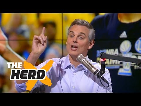 Colin Cowherd reacts to Durant's Finals MVP, LeBron's loss in 2017 NBA Finals | THE HERD