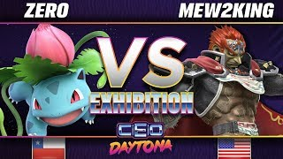 ZeRo (Pokémon Trainer) vs. Mew2King (Ganondorf/Marth) - SSBU Demo - CEO 2018