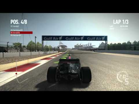 Formule 1  2010 The game online multiplayer Xbox 360 [HD]