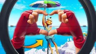 *ONE IN A BILLION* CHANCE SNIPE! | Fortnite Best Moments #124 (Fortnite Funny Fails & WTF Moments)