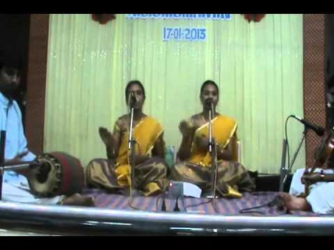Aarumugam Kaana Vandhen- Sujitha And Madhuvanthi... video