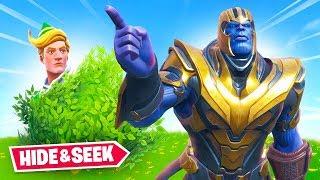 Thanos HIDE & SEEK In Fortnite!