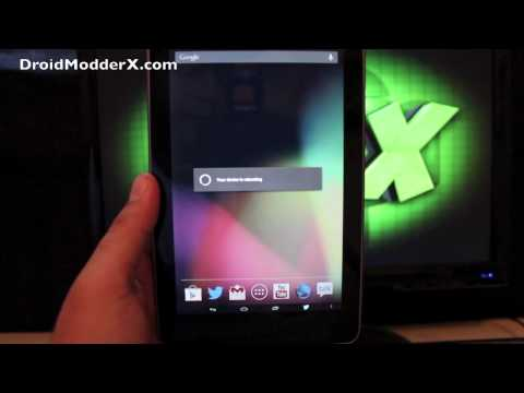 Google Nexus 7 720p Hack Mod Install Guide