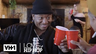 Stevie J & Yung Joc Turn Up A Wild Cabin Party w/ Beautiful Women | Leave It To Stevie
