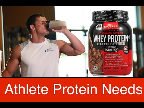 Athletic Nutrition: High Protein Not Necessary
