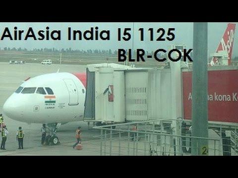 AirAisa India | Airbus A320-200 | Bangalore to Kochi (I51125 | VT-APJ)