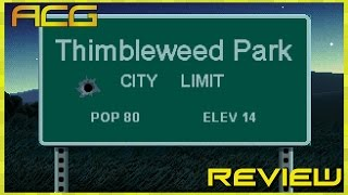 """Thimbleweed Park Review """"Buy, Wait for Sale, Rent, Never Touch?"""""""