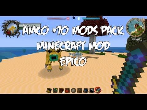 AMCO +70 MODS PACK!! - El mejor pack de mods para Minecraft - 1.5.2 - Instalación/review