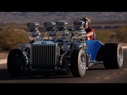 1927 Ford: Double-Trouble -- /BIG MUSCLE Music Videos