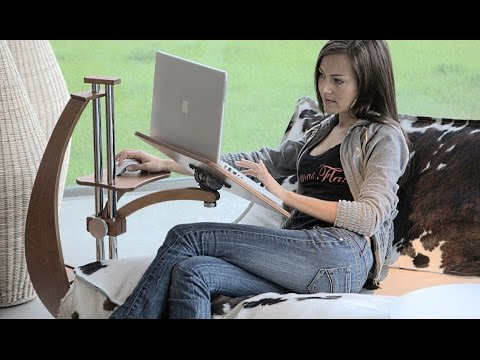Lounge-tek Ergonomic laptop stand for Laptop And Tablet