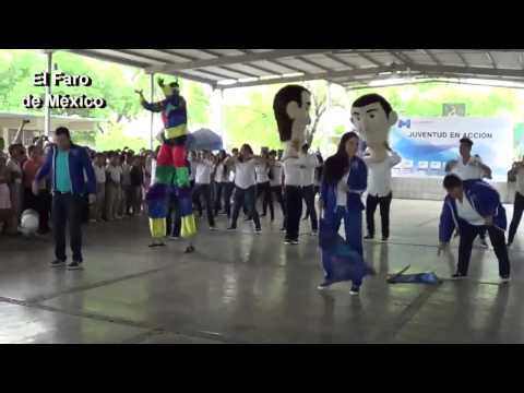 Flash mob matamoros jovenes en accion