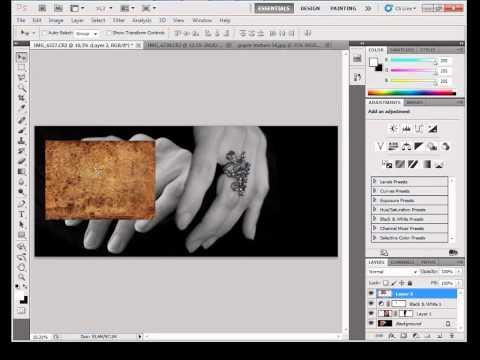 Photoshop gyorstalpaló 5. - Rétegek kezelése és maszkolása