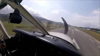 Elba Airport - Visual approach RW16