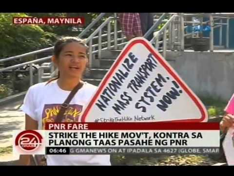 24 Oras: Grupong Piston, nag-kilos protesta kontra sa oil price hike