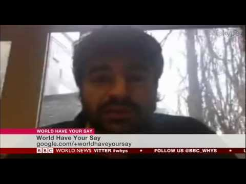 Interview on BBC World News on extremism in Europe