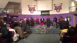 A.C. Braswell and Ordained Worshippers singing You Reign by William Murphy