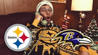 Dad Reacts to Steelers vs Ravens (Week 16)