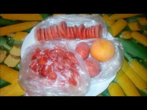 Как заморозить помидоры на зиму.