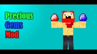 Minecraft Mod Showcase - Precious Gems Mod! [HD]