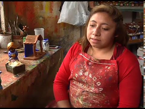 Prevalece tradición de nacimientos de barro | Noticias del Estado de México