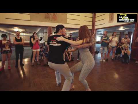 Bruno + Stephany - LA Zouk Congress 2016 - Demo - Sunday