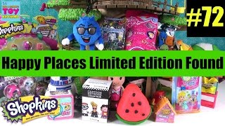 LIMITED EDITION FOUND Blind Bag Treehouse #72 Unboxing Shopkins Happy Places Disney | PSToyReviews