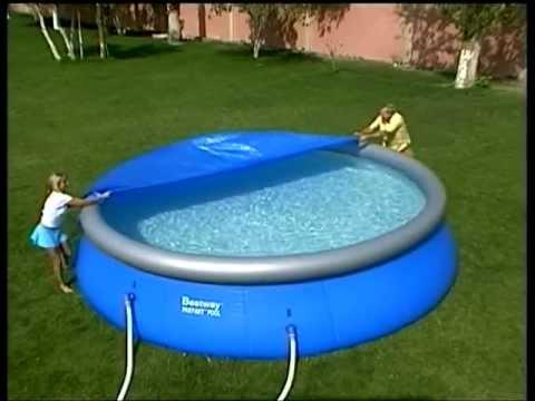 Fast set pool de youtube for Fast set gartenpool xxl