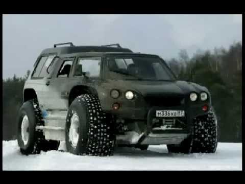 Extreme AMPHIBIOUS Russian offroad vehicle: Aton-Impulse VIKING-2992