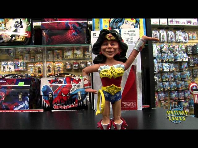 Alfred E Neuman As Wonder Woman Action Figure Unboxing