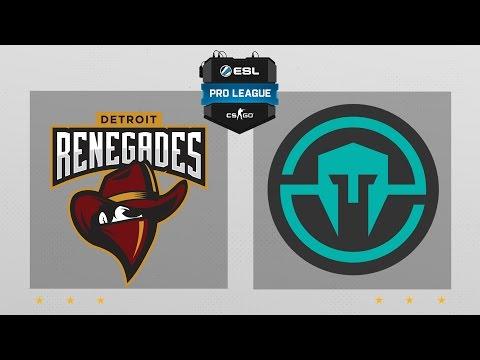 CS:GO - Renegades vs. Immortals [Cache] Map 2 - ESL Pro League Season 5 - NA Matchday 28