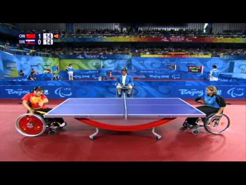 Para-Table Tennis at the London 2012 Paralympic Games