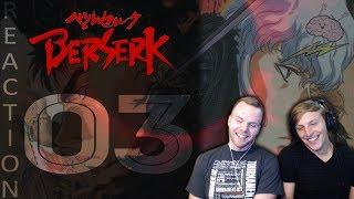 SOS Bros React - Berserk Episode 3 - First Battle!!