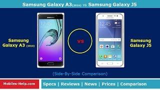 Samsung Galaxy A3 (2016) vs Samsung Galaxy J5 (Side-By-Side Comparison)