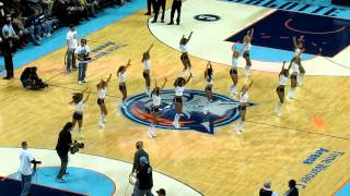 "Bobcats vs Pistons LadyCats Performance #1 2/20/13 ""Blown Away"""