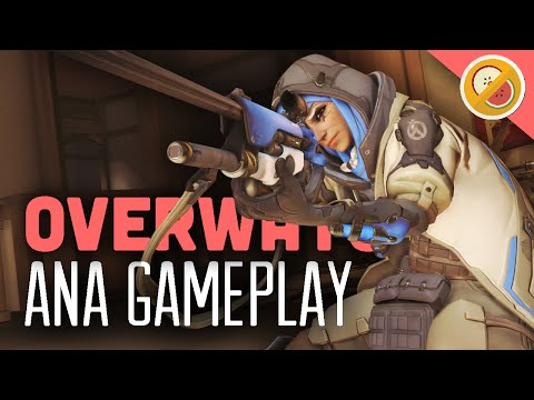 Ana Gameplay - Overwatch (Funny Moments)