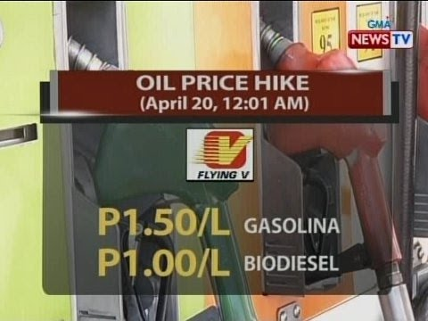 NTVL: Oil price hike (April 20, 2015/12:01 a.m)