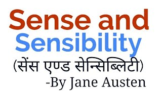 sense and sensibility in hindi by Jane Austen