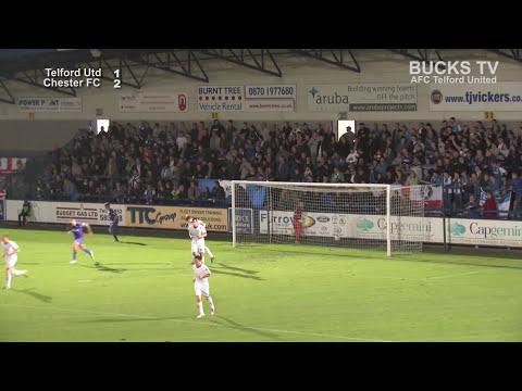 AFC Telford v Chester FC Highlights