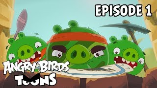 Angry Birds Toons | Treasure Hunt - S2 Ep1