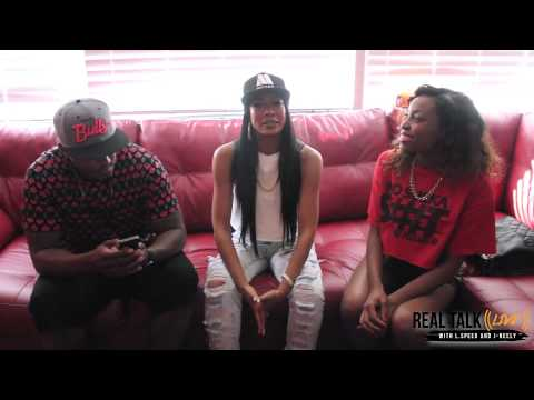 #RealTalkLive: Mila J Prefers Rough-necks...Champagne and Rough...