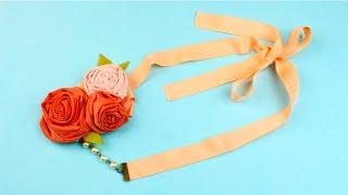 Как сделать цветочное ожерелье своими руками