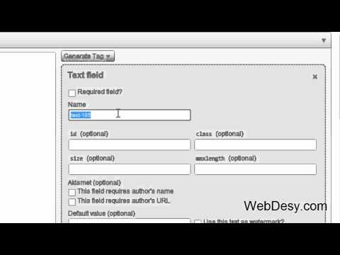 0 How to install the Contact Form 7 plugin for Wordpress   WebDesy.com