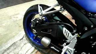 GSX R600 K8 Graves Motorsports Full Exhaust System