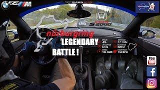 Nürburgring Legendary Battle - Supercharged Honda S2000 vs The Z4Minator - Expert Drivers - 7.45 BTG
