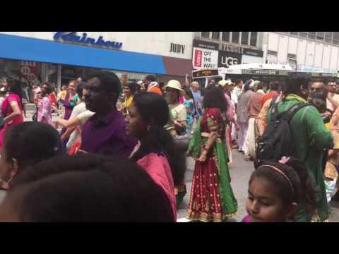 Jagannath Ratha Yatra 2016 at New York City