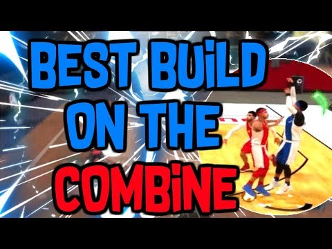 BEST BUILD ON THE NBA 2K LEAGUE COMBINE! | GET DRAFTED USING THIS BUILD! | NBA 2K18 Combine