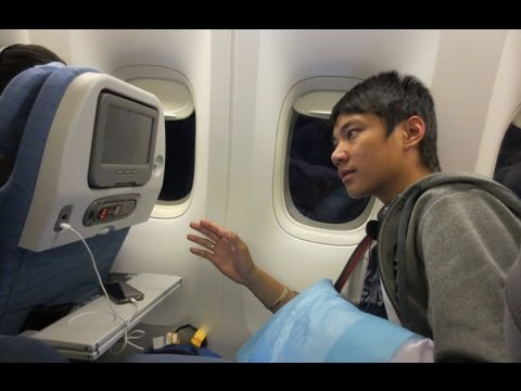 (3/3) Philippine Airlines RP-C7773 Boeing 777 - Vancouver to Manila PR119 FLIGHT VLOG