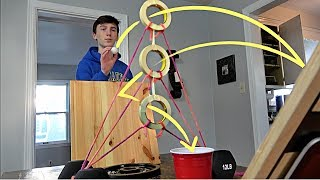 Ping Pong Trick Shot Challenge   That's Amazing