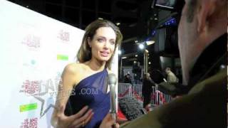 In the Land of Blood and Honey - Angelina Jolie Talks To Starfeine.com About Her New Film and About The Effects Of War