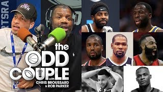 Chris Broussard & Rob Parker - Kevin Durant's Perfect Starting 5